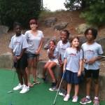 miss lisa golfing